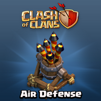 Clash of Clans Air Defense