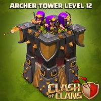 Clash of Clans Archer Tower level 12