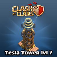 Clash of Clans Hidden Tesla Level 7