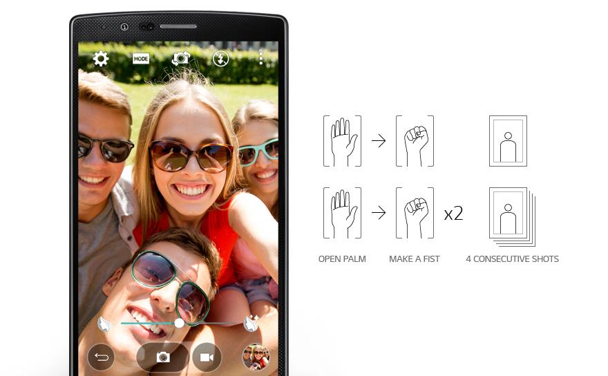 LG G4_8MP Front Camera