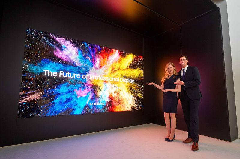 Η Samsung παρουσιάζει την The Wall Professional