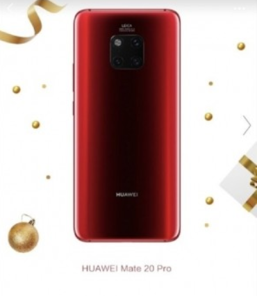 mate 20 pro red